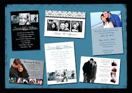 Collage Wedding Invitations Collage Invitations Templates Smoothberry Co