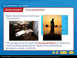 introducing the essays literary analysis transcendentalism ppt 5 transcendentalism