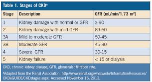 Ckd Stages Chronic Kidney Disease Kidney Disease Kidney