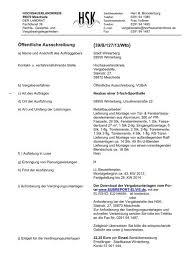 1 podestmass = anzahlschrittr + 1 auftritt 2. Offentliche Ausschreibung 39 B 127 13 Wtb Rathaus Winterberg