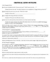 critical lens essay format inside a chanticleer christmas nys  critical critical lens essay format
