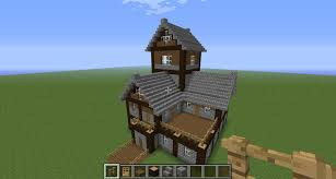 Small Picture Beautiful Medieval House Tutorial Creative Mode Minecraft