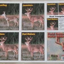 Deer Age Pocket Guide Tool Ccw Hunting Calls