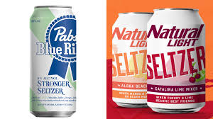 Pbr Light Alcohol Content Pbr And Natural Light Both Released Their Own Hard Seltzers