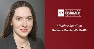 Member Spotlight: Rebecca Burch, MD | American Headache Society