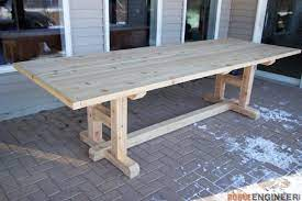 h leg dining table rogue engineer