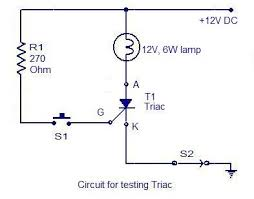 how to test an scr electronic circuits and diagrams electronic circuit for testing scr
