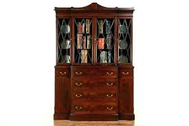 antique oak curio cabinet curved glass antique oak china cabinet curved glass amazing curved glass curio