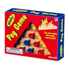 Wooden Peg Games Toysmith Wooden Peg Game MultiColored Walmart 57