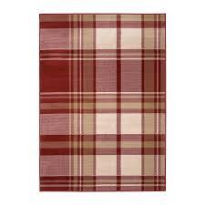 highest plaid rugs maestro tartan red rug carpetright