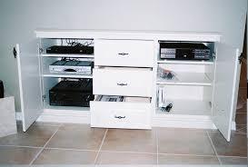 Wall Media Cabinet Recessed In Wall Media Cabinet Figueroas Fine Custom Furniture