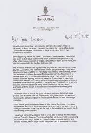 Faisal Islam On Twitter Rudd Resignation Letter