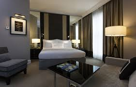 Mirrored Bedroom Suite Hotel Rooms Suites In Malaysia The Ritz Carlton Kuala Lumpur