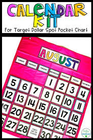 Calendar Kit For Target Calendar Pocket Chart Teachers Pay