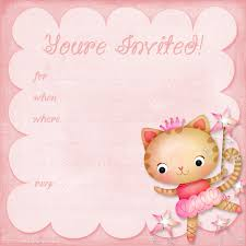 printable hello kitty birthday invitation cards