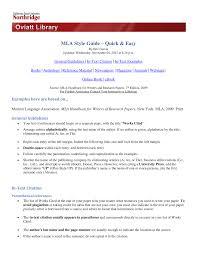Mlacitation Quickguide Mktg 201 Principles Of Marketing Studocu