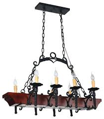 rustic chandeliers wrought iron 8 light wrought iron chandelier with faux candles and wood foundation large rustic wrought iron chandeliers