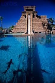 underwater water slide. Fine Slide Leap Of Faith Water Slide Paradise Island Bahamas Atlantis Resortu0027s  Water Slide Starts Atop The Mayan Temple And Travels Underwater Through  For Underwater Slide R