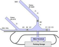 chicago midway airport terminal map