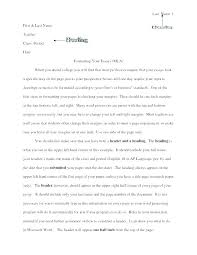 Writing A College Essay Examples How To Write A Great