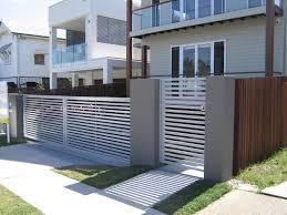 Download House Fence And Gate Designs Garden Design Layout Motorised  Driveway Gates Smarter Fencing Sydney.