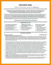 Pharmaceutical Sales Representative Resume Sample | Ophion.co