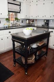 ... Kitchen, Appealing Roll Away Kitchen Island Kitchen Islands With  Seating Black: awesome Roll Away ...