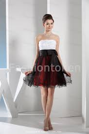 Black White And Red Dresses Dress Ty