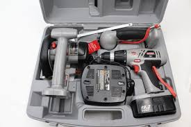 craftsman power tools. craftsman 75th anniversary power tools with case