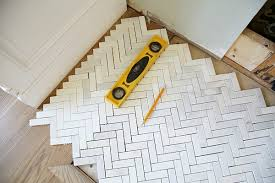 remarkable how to lay herringbone tile install a marble fireplace surround and hearth