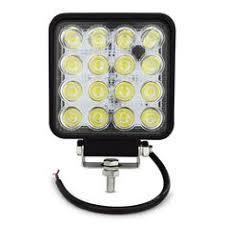<b>4 Inch 27W</b> High-Power 9X 3W <b>Square</b> LED Work Light 12V Spot ...
