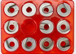 Gunworks Ltd Lee Hand Priming Tool Shell Holder Set Red