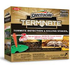 Spectracide Terminate Detection and Killing Stakes 5-Count Termite Killer