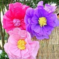 Large Tissue Paper Flower 10 Ways To Make Giant Tissue Paper Flowers Guide Patterns