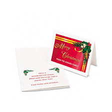 Avery Greeting Cards Avery 1 4 Fold Greeting Cards