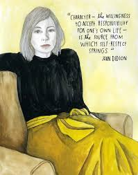 joan didion on self respect brain pickings portrait of joan didion by lisa congdon for our reconstructionists project