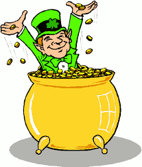free pot of gold clipart   public domain holiday stpatrick clip    free pot of gold clipart