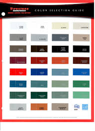 Firestone Metal Products Color Chart 7 Metal Colors Roof Sheet Color Chart Sheet