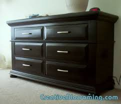 Painted Furniture Bedroom Painting Furniture Black Casual Cottage