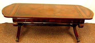 Mahogany duncan phyfe furniture pieces are common. Mahogany Duncan Phyfe Style Coffee Table