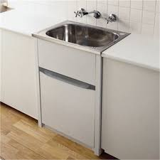 everhard 45l laundry trough and cabinet