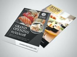 Grand Opening Restaurant Flyer Template Microsoft Word ...
