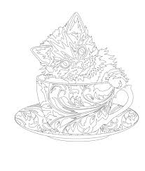 Small Picture Elegant Tea Party Coloring Book Coloring books Tea parties and Teas