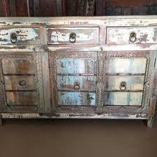 antique distressed furniture. Antique Distressed Blue Sideboards Drawer Chest Dresser Storage Cabinet Furniture H