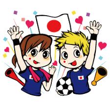 「サッカー観戦 イラスト 無料」の画像検索結果