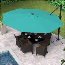best rated patio umbrellas corliving cantilever umbrella top with solar lights offset 615x615