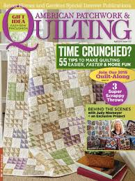 American Patchwork & Quilting April 2015 | AllPeopleQuilt.com & April 2015. The April 2015 issue of American Patchwork & Quilting ... Adamdwight.com