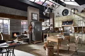 Old Fashioned Kitchen Design Vintage And Industrial Style Kitchens By Marchi Group Adorable Home