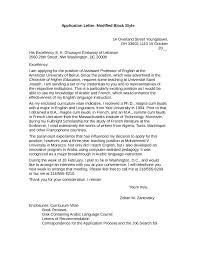 Modified Block Style Application Letter Example Oshibori Info
