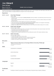 Sales Manager Cv Template Sales Manager Resume Example Complete Guide 20 Examples